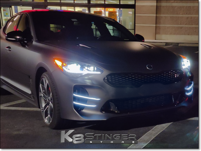 Kia Stinger GT - LED Devils Claw Canards