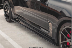 Kia Stinger side skirts