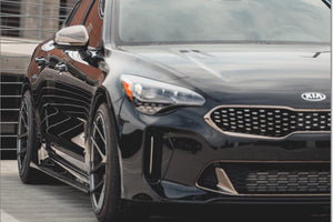 Kia Stinger Carbon Fiber side skirts