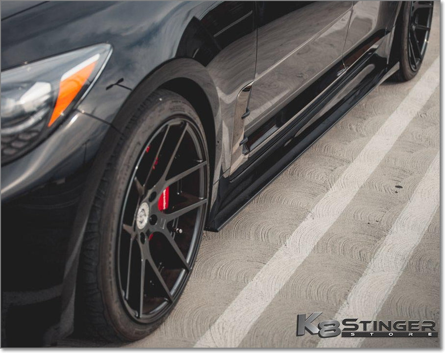 CF side skirts Kia Stinger