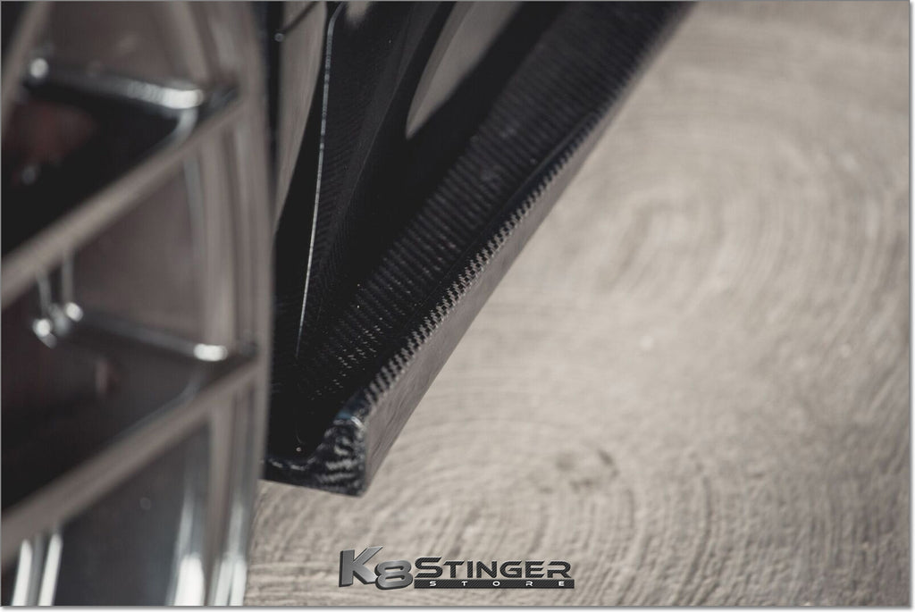 Kingsmen Carbon Fiber Side Skirts