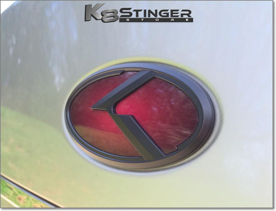 "Kia Stinger 3.0 K Emblem Sets ""Black Edition"""