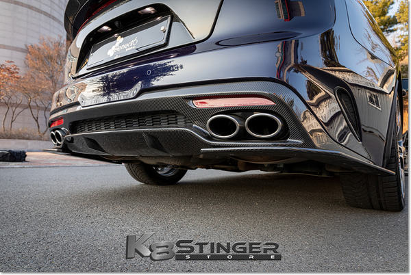 Kia Stinger Element6 Carbon Fiber Rear Diffuser