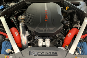 Ingen intake Stinger engine bay