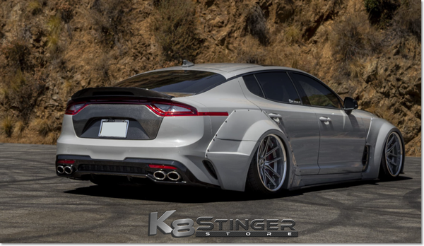 Kia Stinger - Seibon Carbon Fiber Trunk Garnish