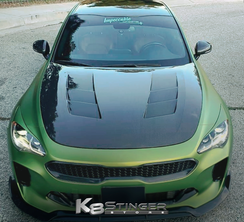 Kia Stinger Carbon Fiber Vents