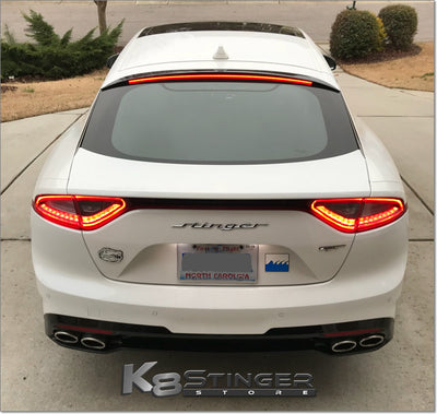 Kia Stinger LED Roof Spoiler