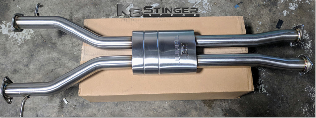 the stinger gt exhaust