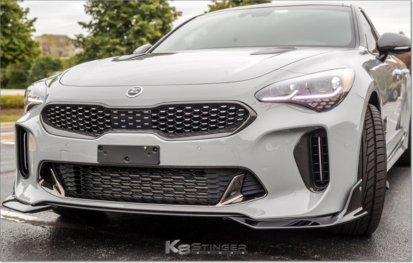 Kia Stinger Genuine OEM Carbon Fiber Grille Trim