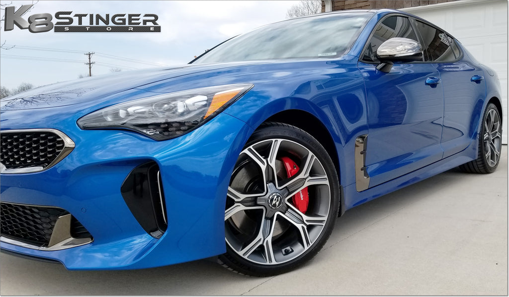 Kia stinger e logo wheels