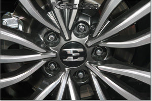 kia stinger wheel emblems