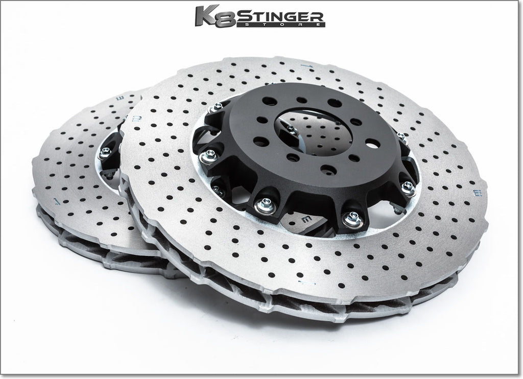 Kia Stinger upgraded rotors