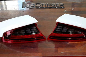 Kia Stinger lights