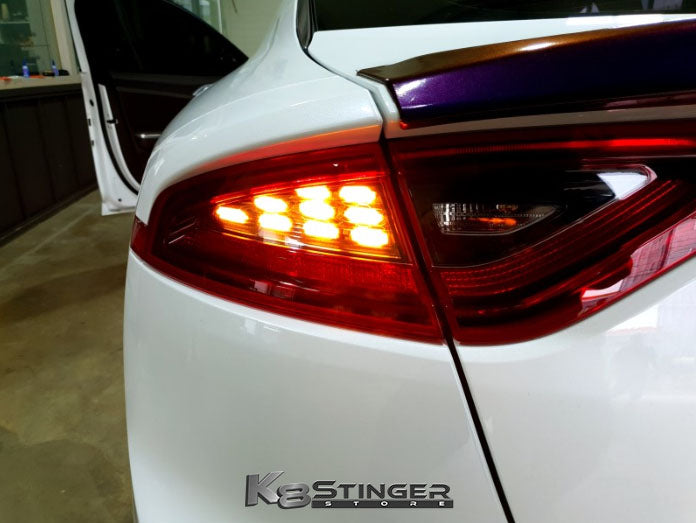 Kia Stinger taillight upgrade