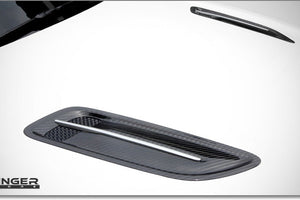 Kia Stinger factory carbon fiber hood vents