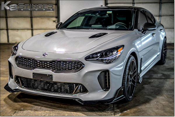 Kia Stinger - Element6 Carbon Fiber Lower Grille