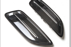 Stinger carbon fiber hood vents