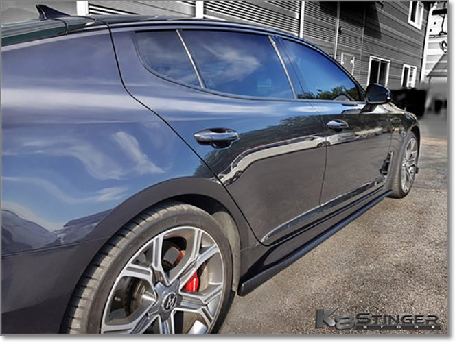 Side extensions Kia K8 Stinger
