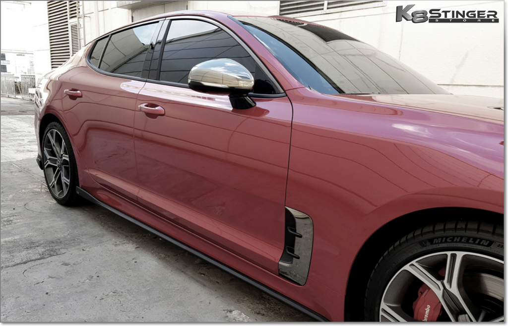 M&S Side Skirts Kia Stinger 2.0
