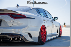 Carbon Fiber Kia Stinger Side Skirt