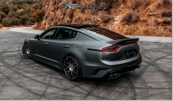 Kia Stinger Spreek by KEENDESIGN Carbon Fiber Side Skirts
