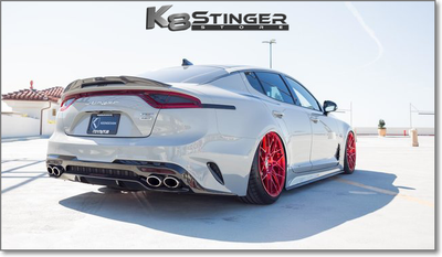 Kia Stinger Spreek by KEENDESIGN Carbon Fiber Trunk Spoiler