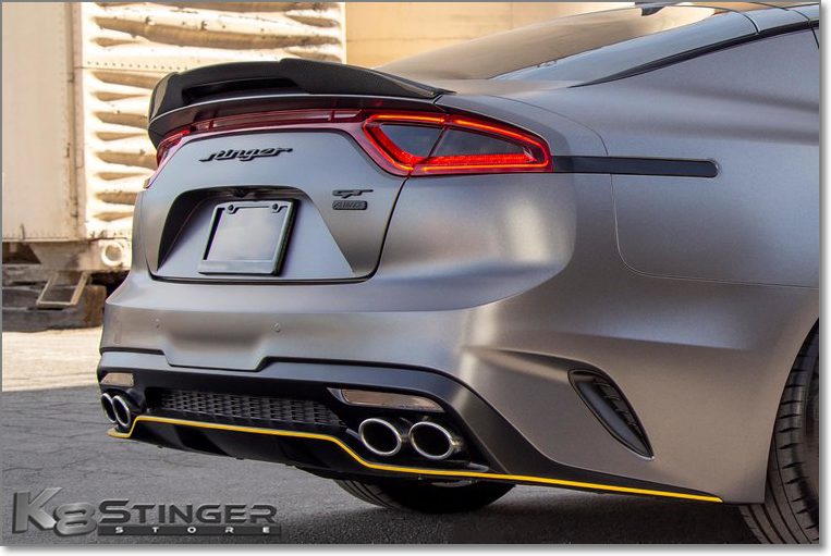KEENDESIGN Stinger Trunk Spoiler