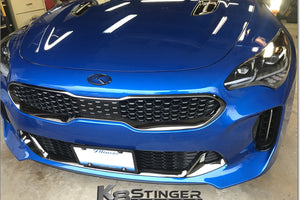 stinger blue black k emblem