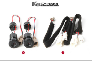 Stinger door lights pair