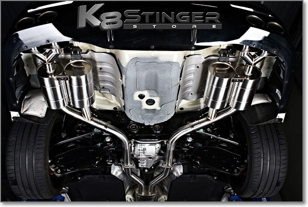 jun bl stinger exhaust system