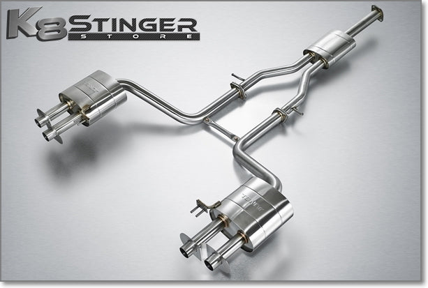 2.0T stinger exhaust Racing