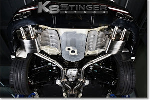 Jun bl racing exhaust