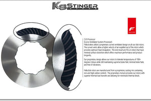 stinger brake rotors