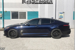 Kia Stinger lowered