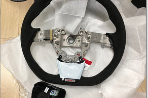 upgraded kia stinger steering wheel