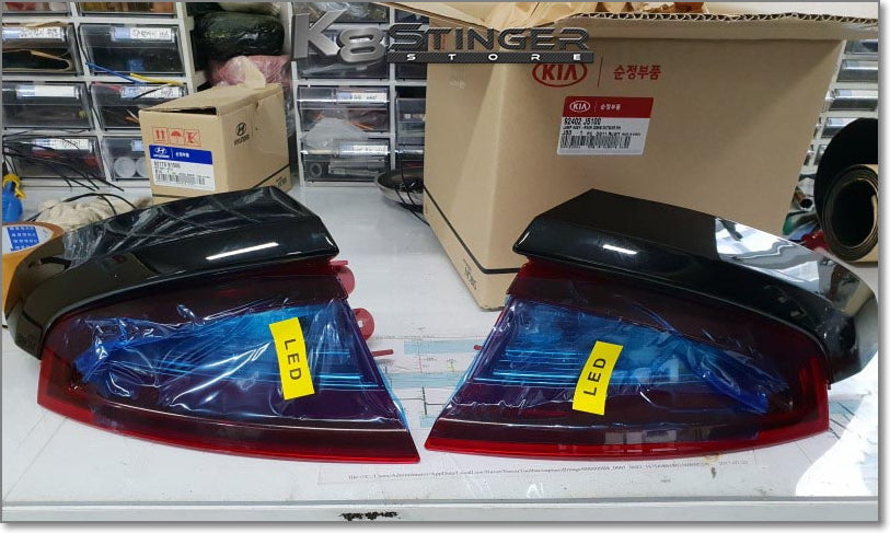 Kia Stinger OEM LED Turn Signal Taillight Set Upgrade