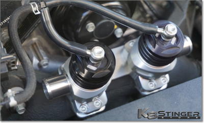 Kia Stinger 3.3T - TurboXS Dual BOV Kit
