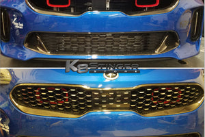 Kia Stinger big mouth intake