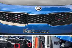Kia Stinger Velossa Tech BIG MOUTH Ram Air