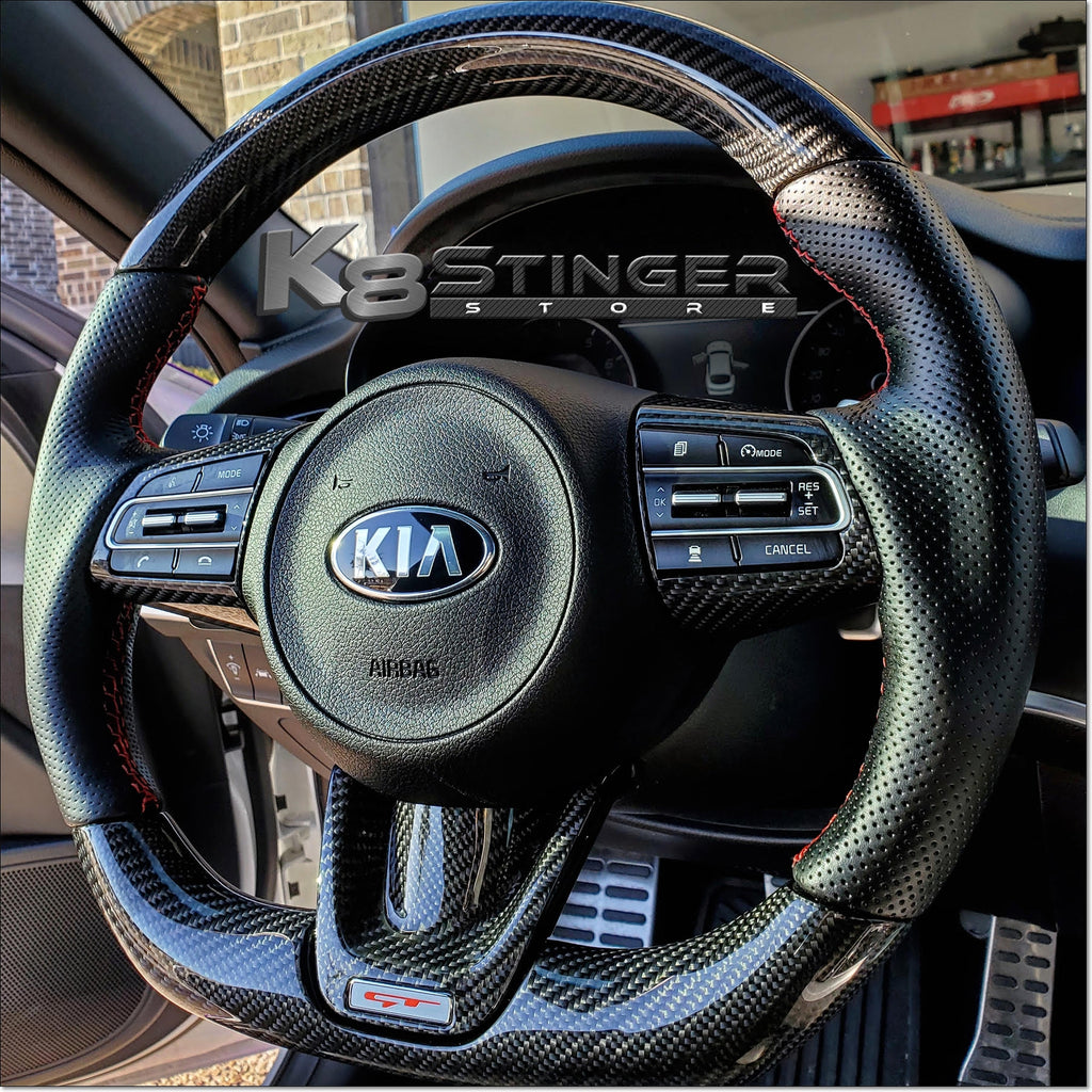 Carbon Fiber GT Stinger Steering Wheel