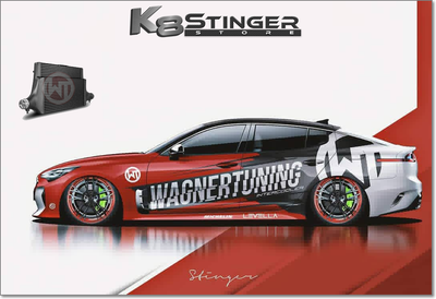 Kia Stinger GT - Wagner Tuning Competition Intercooler