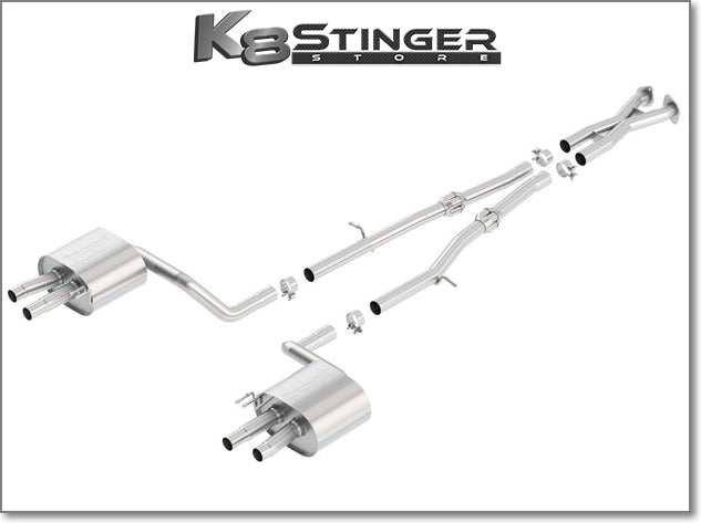 Stinger Borla Exhaust s type