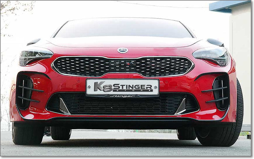 Kia Stinger canards