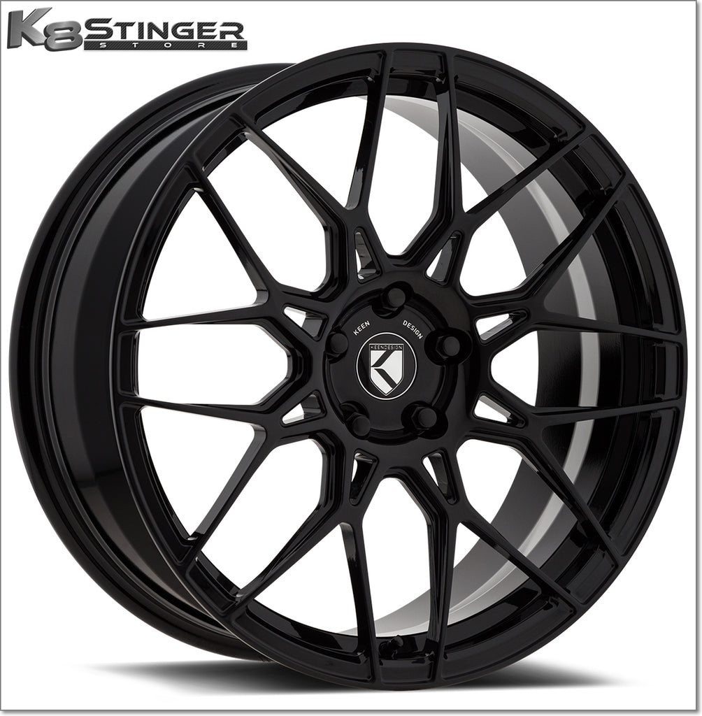 keen black wheels