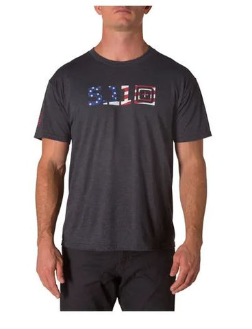 CAMISETA LEGACY USA FLAG FILL CHARCO
