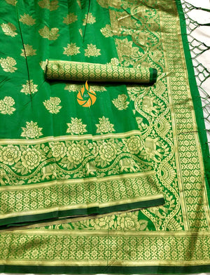 BEAUTIFUL BANARASI KOTA SILK SAREE