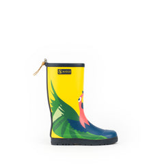 Woodypop Fun Rubber Boots <br> Parrot