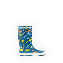 Lolly Pop Rubber Boots <br> Dino Print