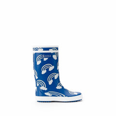 Lolly Pop Rubber Boots <br> Rainbow Print