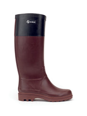 Aiglentine® Colour Block Rubber Boots <br>Sureau/Black
